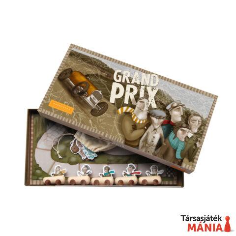 Marbushka Grand Prix társasjáték