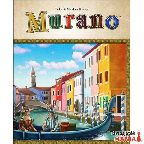 Mayfair Games Murano angol nyelv? társasjáték
