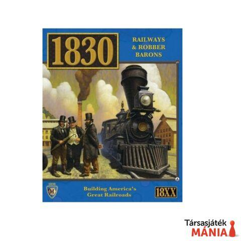 1830™ Railways & Robber Barons - North East US -angol nyelvű társasjáték