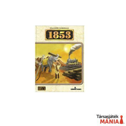 1853 India társasjáték, angol nyelvű