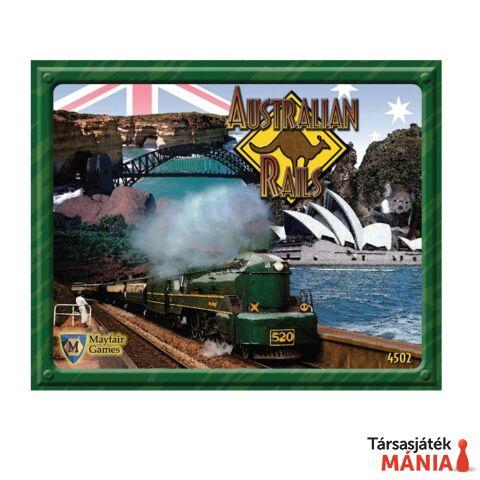 Australian Rails társasjáték, angol nyelvű