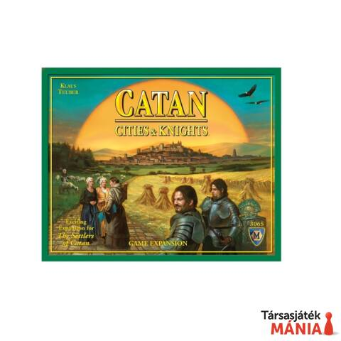 Catan: Cities & Knights Game Expansion, angol nyelvű