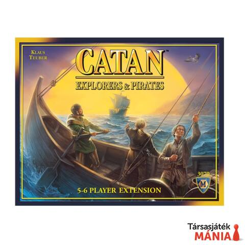 Catan: Explorers & Pirates 5-6, angol nyelvű