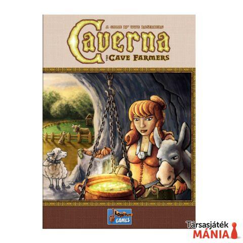 Caverna társasjáték, angol nyelvű
