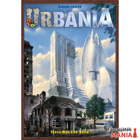 Urbania társasjáték, angol nyelvű