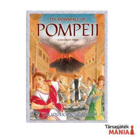 The Downfall of Pompeii társasjáték, angol nyelvű