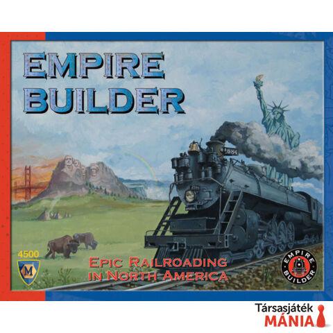 Empire Builder társasjáték, angol nyelvű