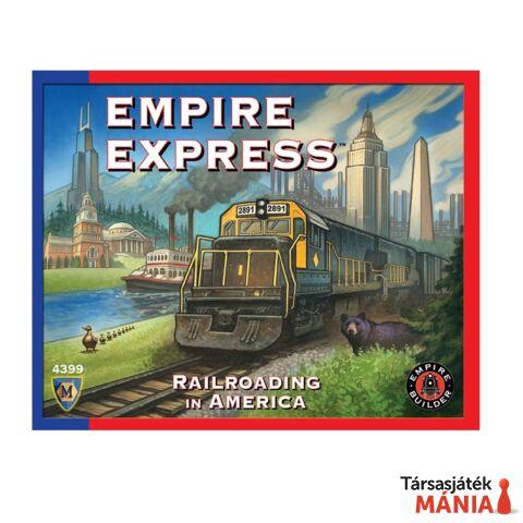 Empire Express társasjáték, angol nyelvű