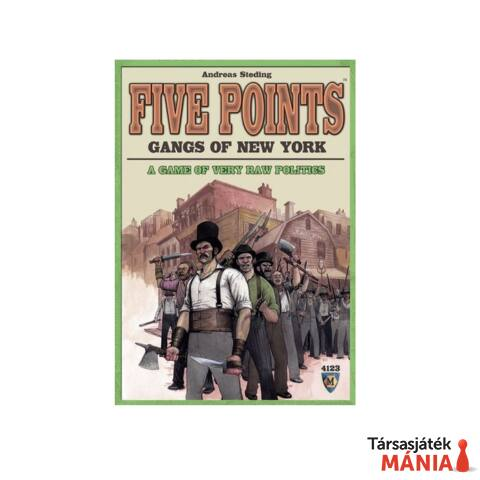 Five Points - Gangs of New York társasjáték angol nyelvű