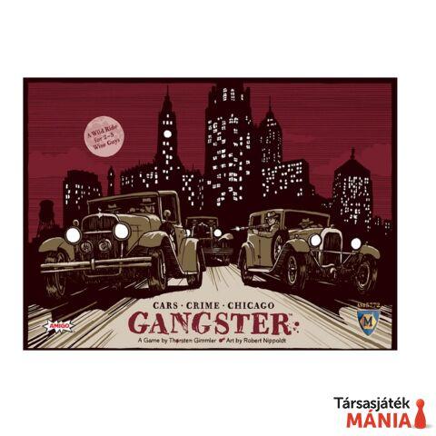 Gangster társasjáték, angol nyelvű