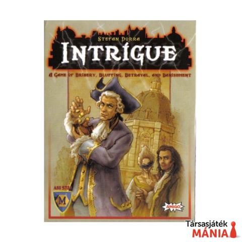 Intrigue társasjáték, angol nyelvű