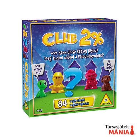 Piatnik Club 2%-logikai társasjáték