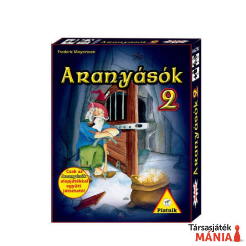 Piatnik Aranyásók 2. Kiegészítő kártyajáték