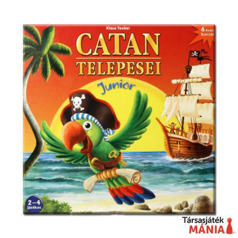 Piatnik Catan telepesei Junior társasjáték