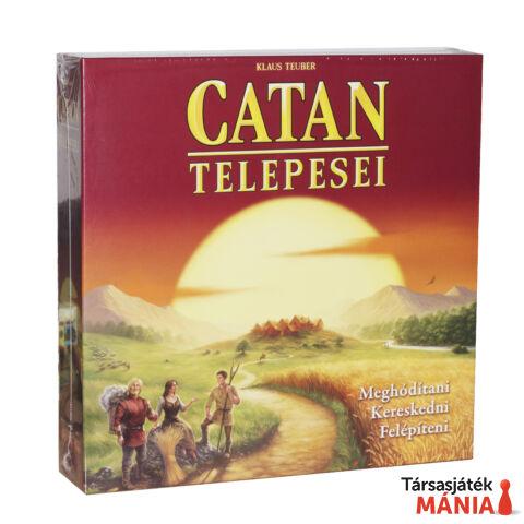 Piatnik Catan Telepesei társasjáték