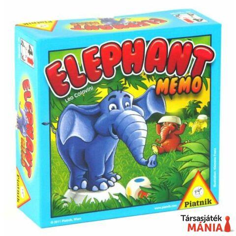 Piatnik Elefánt Memo társasjáték
