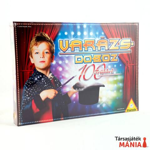 Piatnik Varázsdoboz 100 trükkel