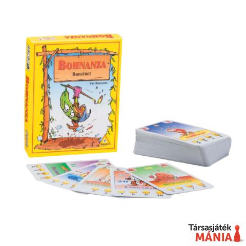 Piatnik Bohnanza babszüret családi kártyajáték