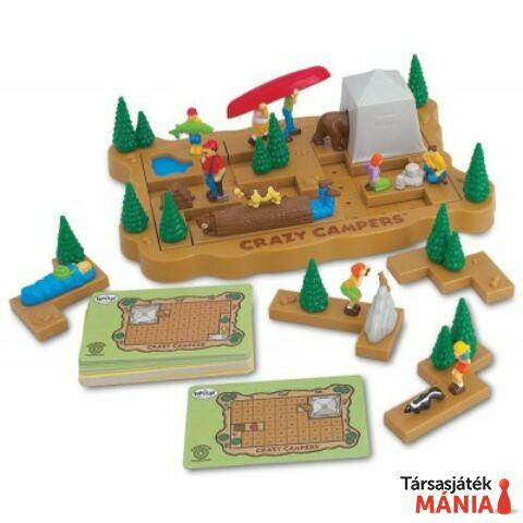Popular Playthings Crazy Campers logikai játék