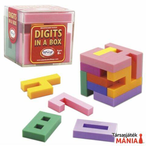 Popular Playthings Digits in a box logikai játék