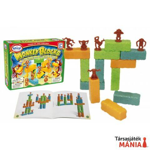 Popular Playthings Monkey Blocks épít? játék