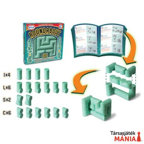 Popular Playthings Roundabout logikai játék