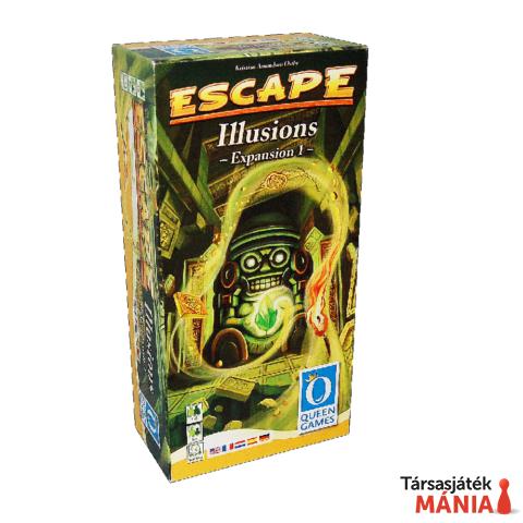 Queen Games Escape Illusions 1. angol nyelvű kiegészítő