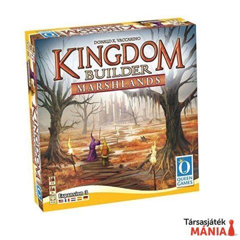 Queen Games Kingdom builder Marshlands 3. angol nyelvű kiegészítő