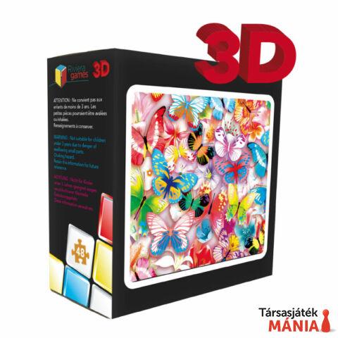 RG Pillangók 3D puzzle 48 db-os