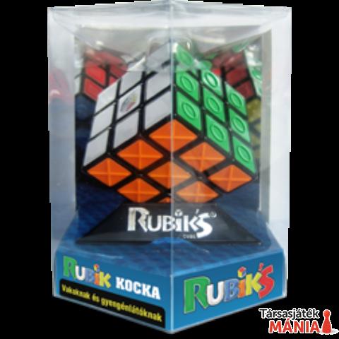 Rubik 3x3x3 kocka gyengén látóknak, hexa dobozos