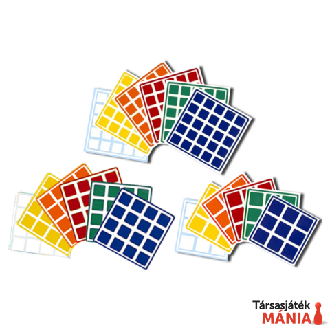 Rubik kocka 4x4 matrica szett