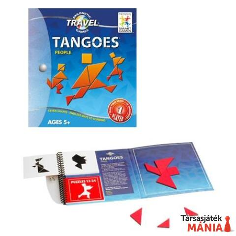 Smart Games Magnetic Travel  - Tangoes Emberek logikai játék