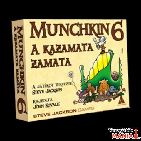 Munchkin 6 stratégiai kártyajáték - A kazamata zamata