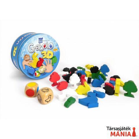 Stragoo Grabolo 3D társasjáték