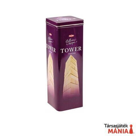 Klasszikus Tower ügyességi játék fém dobozban