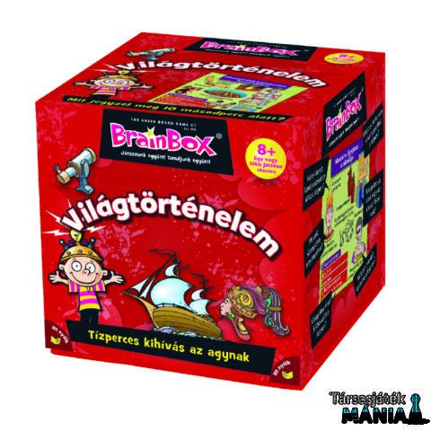 Brainbox Világtörténelem logikai játék