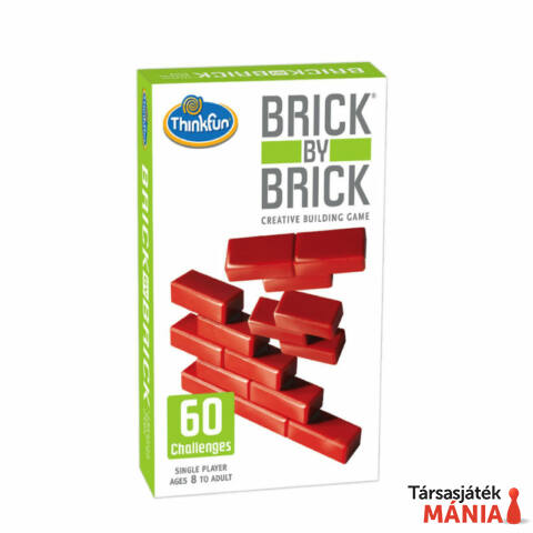 ThinkFun Brick by Brick logikai játék