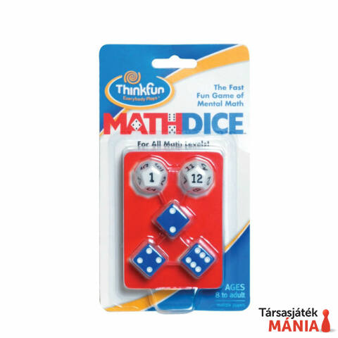 ThinkFun Math Dice logikai játék