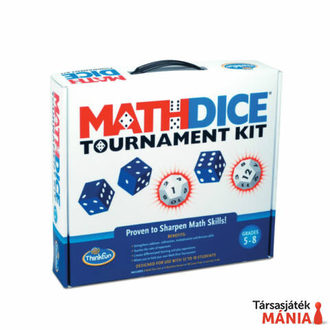 ThinkFun Math Dice Tournament kit logikai játék