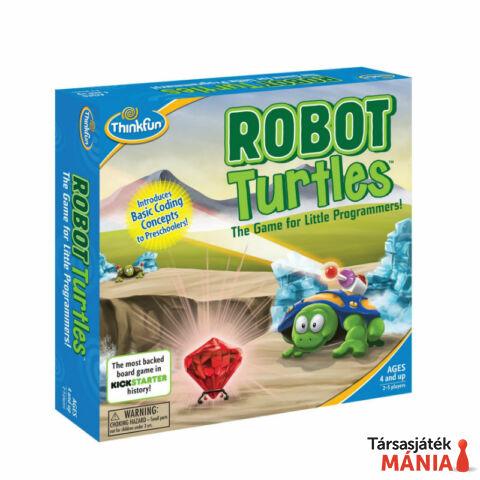 ThinkFun Robot Teknősök magyar kiadás logikai játék