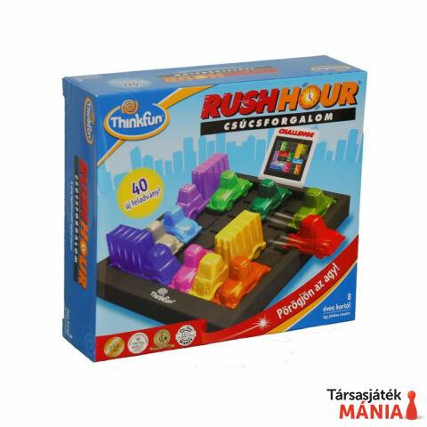 ThinkFun Rush Hour Csúcsforgalom logikai játék  -Új magyar kiadás