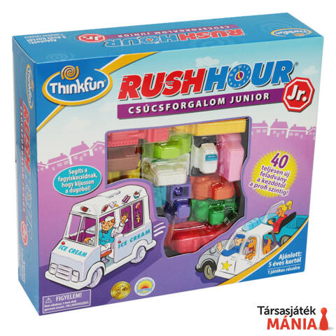 ThinkFun Rush Hour Junior logikai játék magyar kiadás