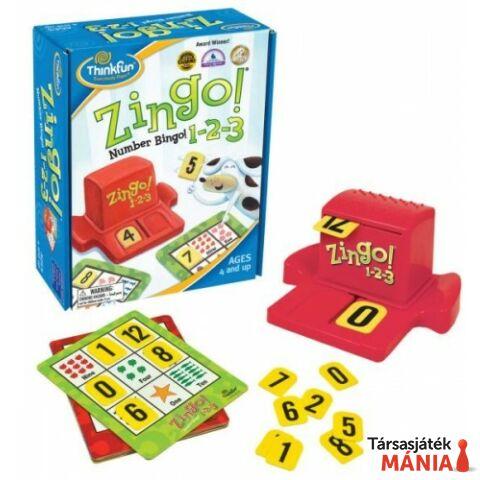 Thinkfun Zingo! 1-2-3 logikai játék