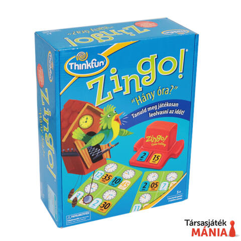 ThinkFun Zingo logikai játék - Hány óra van