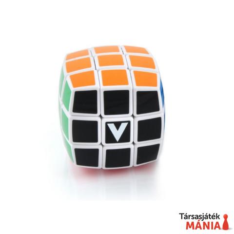 V-CUBE 3x3 versenykocka fehér lekerekített matrica nélküli