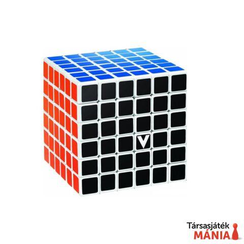 V-CUBE 6x6 versenykocka fehér egyenes