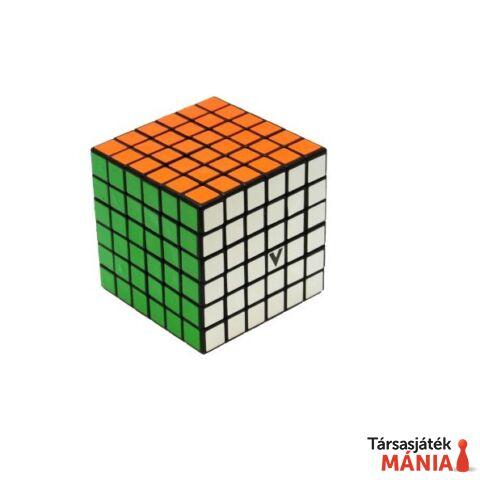V-CUBE 6x6 versenykocka fekete egyenes