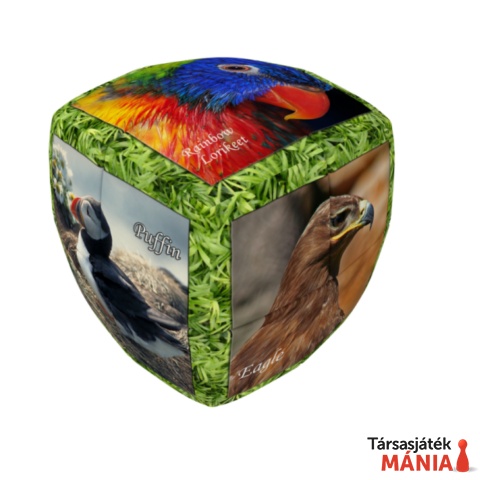 V-Cube 2x2 versenykocka lekerekített Madarak