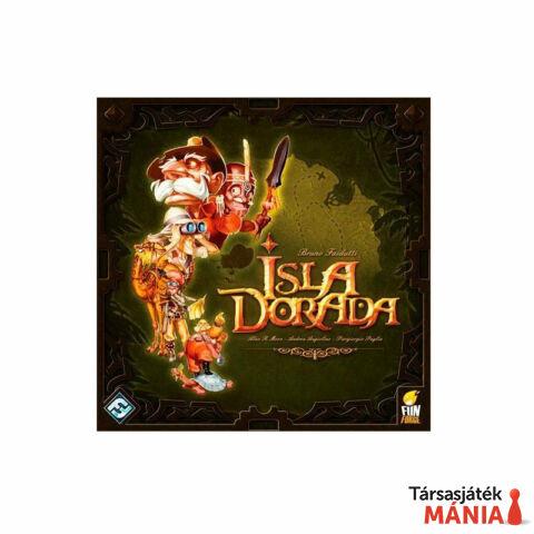 Delta Vision Isla Dorada társasjáték