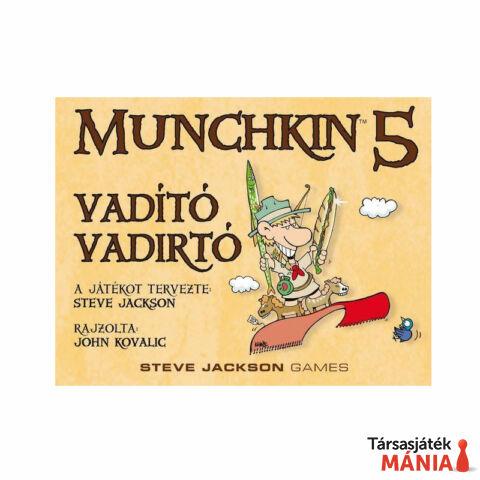Delta Vision Munchkin 5 társasjáték- Vadító vadirtók